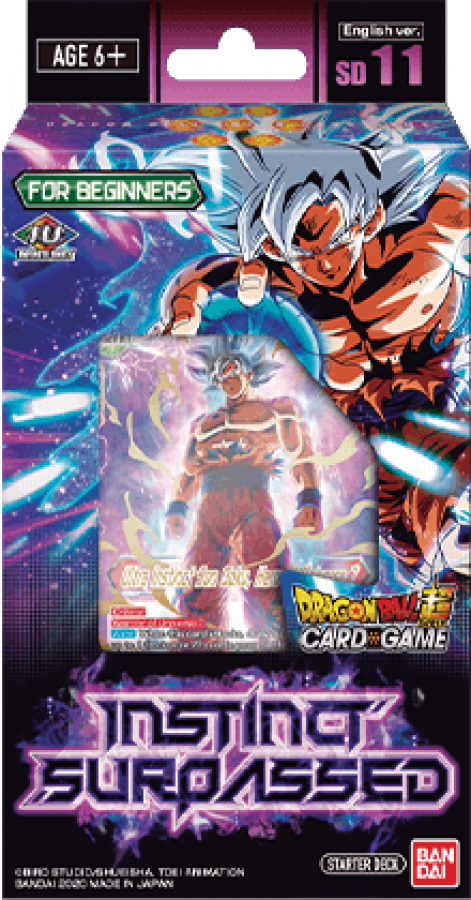 Dragon Ball Super Card Game: Instinct Surpassed - Starter Deck