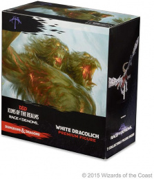 Dungeons & Dragons: Icons of the Realms - Rage of Demons - White Dracolich
