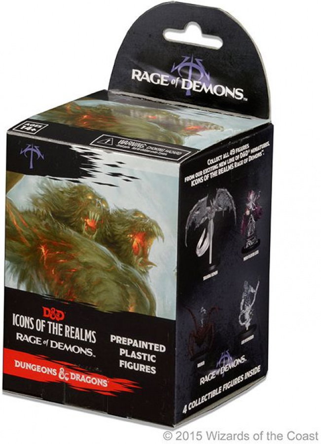 Dungeons & Dragons: Icons of the Realms - Rage of Demons Standard Booster