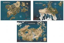 Dungeons & Dragons: Eberron Maps