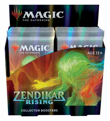 Magic: The Gathering: Zendikar Rising - Collector Booster Display (12)