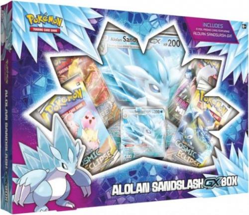 Pokemon TCG: Sword and Shield - GX Box Alolan Sandslash