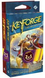 Pakiet KeyForge 2w1: Zew Archontów + Czas Wstąpienia - 2 Talie Archonta