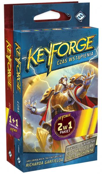 Pakiet KeyForge 2 w 1: Zew Archontów + Czas Wstąpienia - 2 Talie Archonta