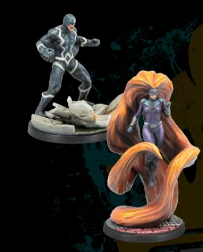Marvel: Crisis Protocol - Black Bolt and Medusa