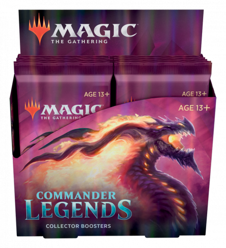Magic The Gathering: Commander Legends - Collector Booster Display (12)