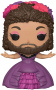 Funko POP Movies: The Greatest Showman - Bearded Lady