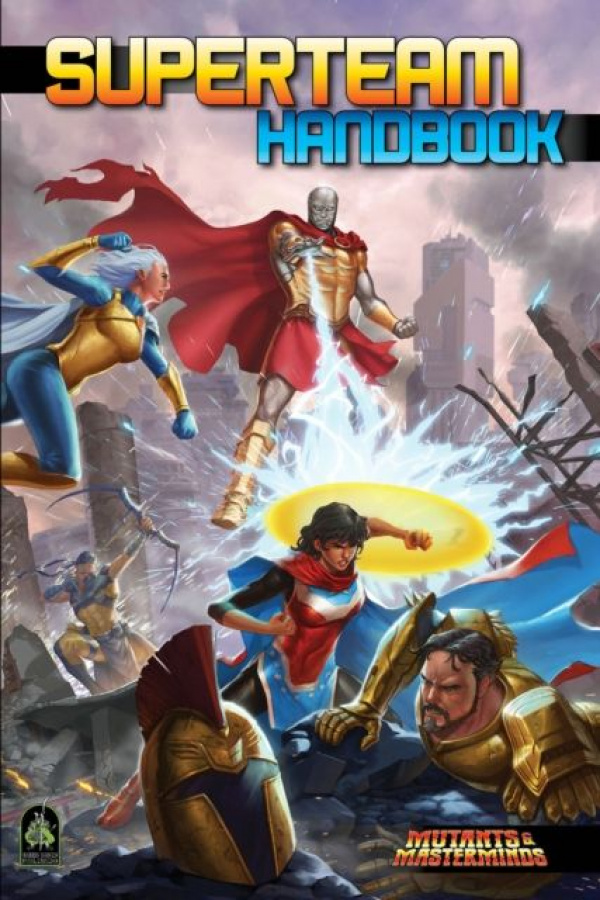 Mutants & Masterminds RPG: Superteam Handbook