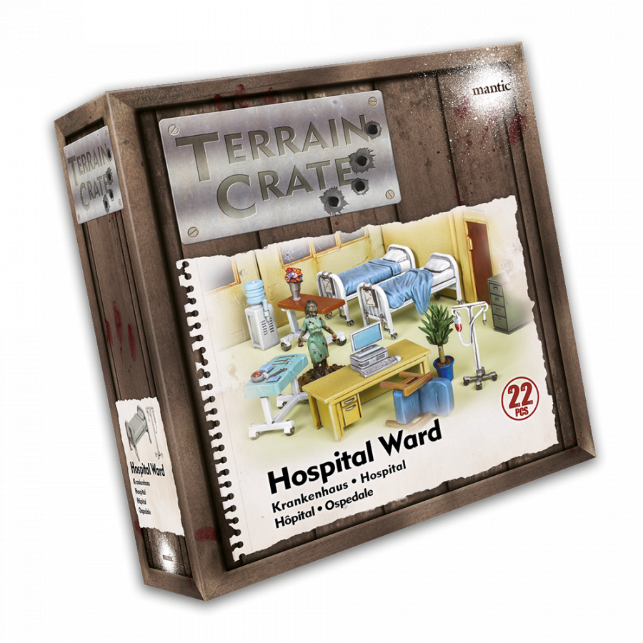 Terrain Crate: Hospital Ward