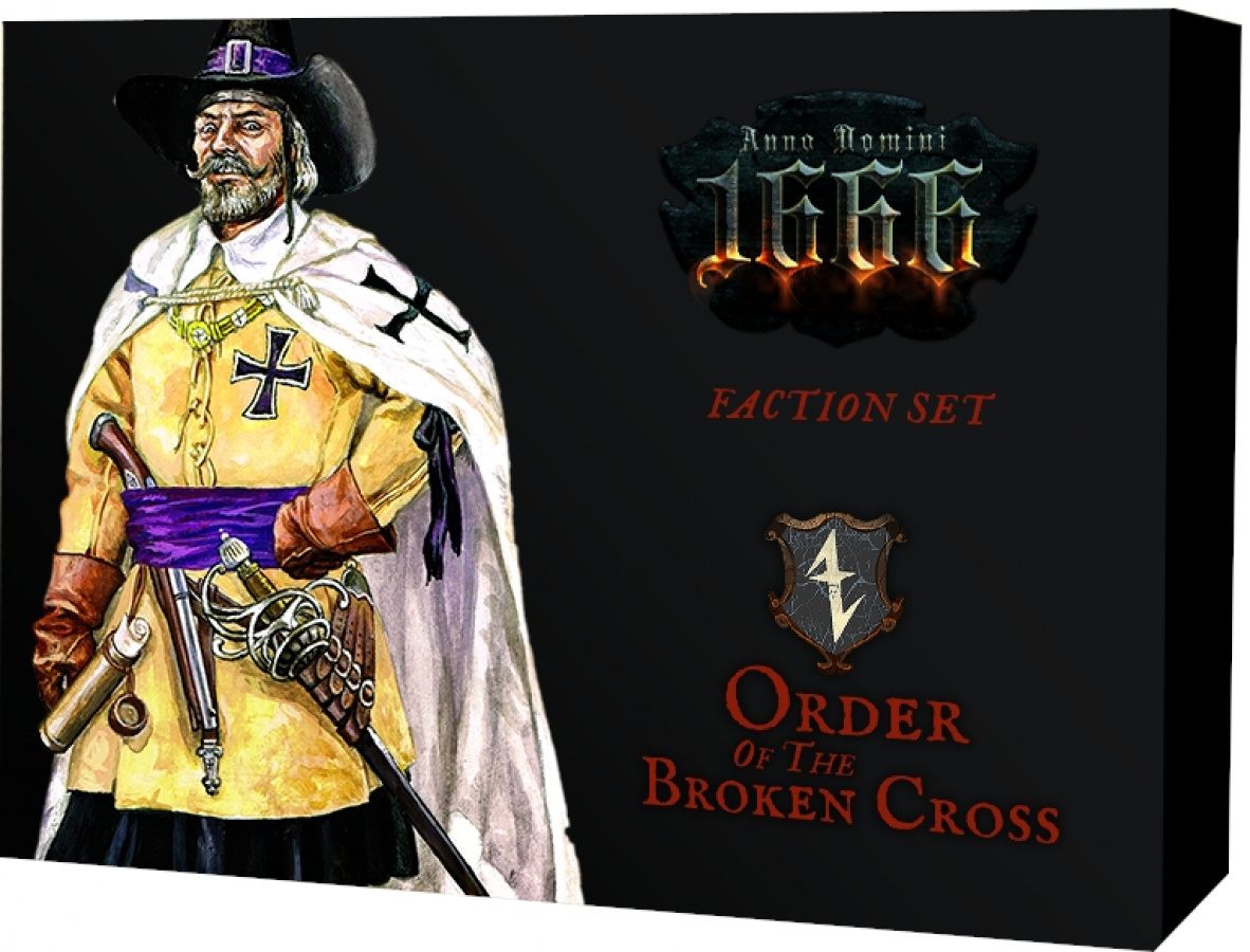 Anno Domini 1666 - Faction Set - Order of the Broken Cross (wersja polska)