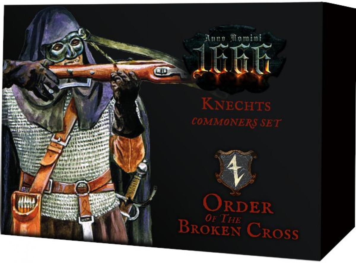 Anno Domini 1666 - Order of the Broken Cross - Knechts