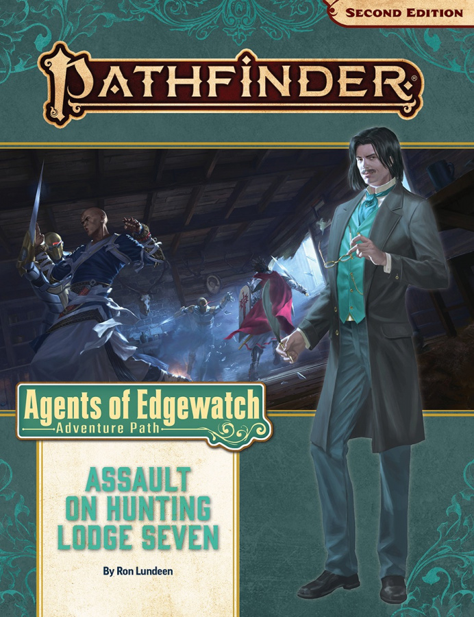 Pathfinder RPG: #160 - Assault on Hunting (uszkodzony)