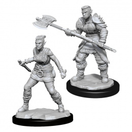 Dungeons & Dragons: Nolzur's Marvelous Miniatures - Female Orc Barbarian