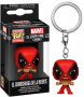 Funko POP Keychain: Marvel Luchadores - El Chimichanga De La Muerte (Deadpool)
