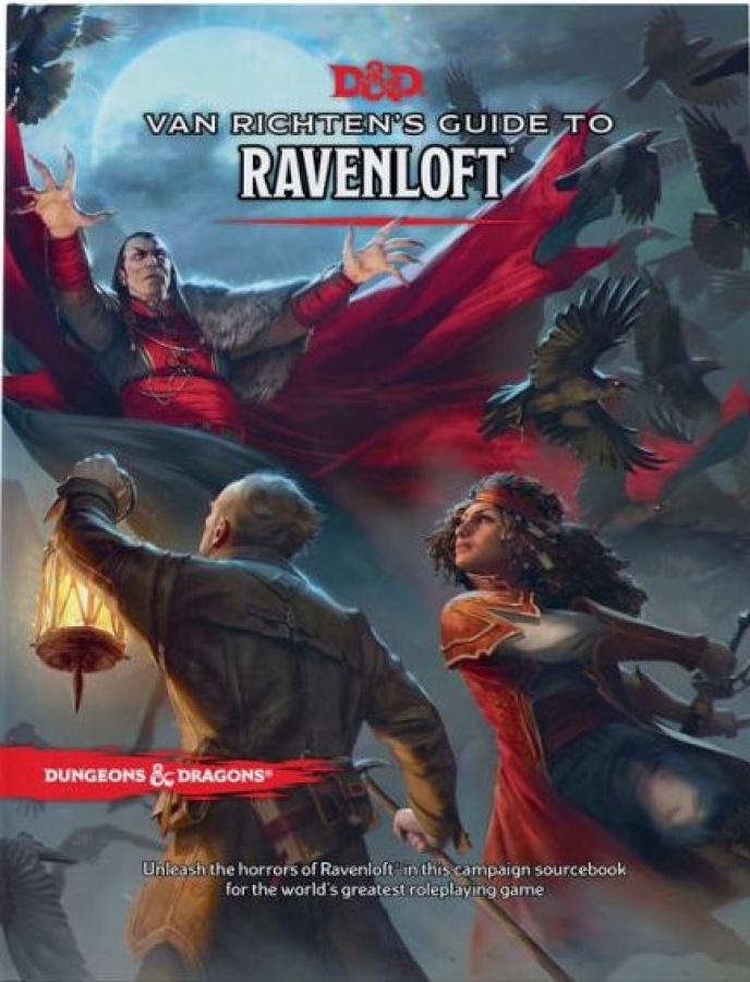 Dungeons & Dragons 5.0: Van Richten's Guide to Ravenloft (Classic Cover)
