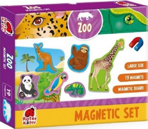 Magnetic set: Zoo