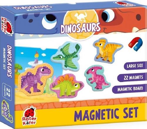 Magnetic set: Dinosaurs