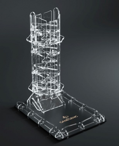 Gamegenic: Crystal Twister Premium Dice Tower