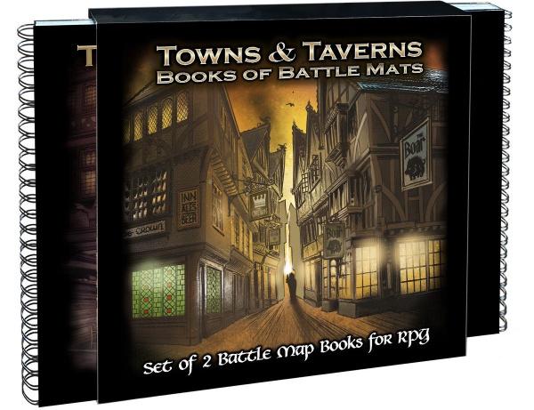 Books of Battle Mats: Towns & Taverns