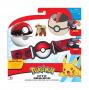 Pokemon Clip 'N' Go Poke Ball pas + figurka Growlithe Seria 5