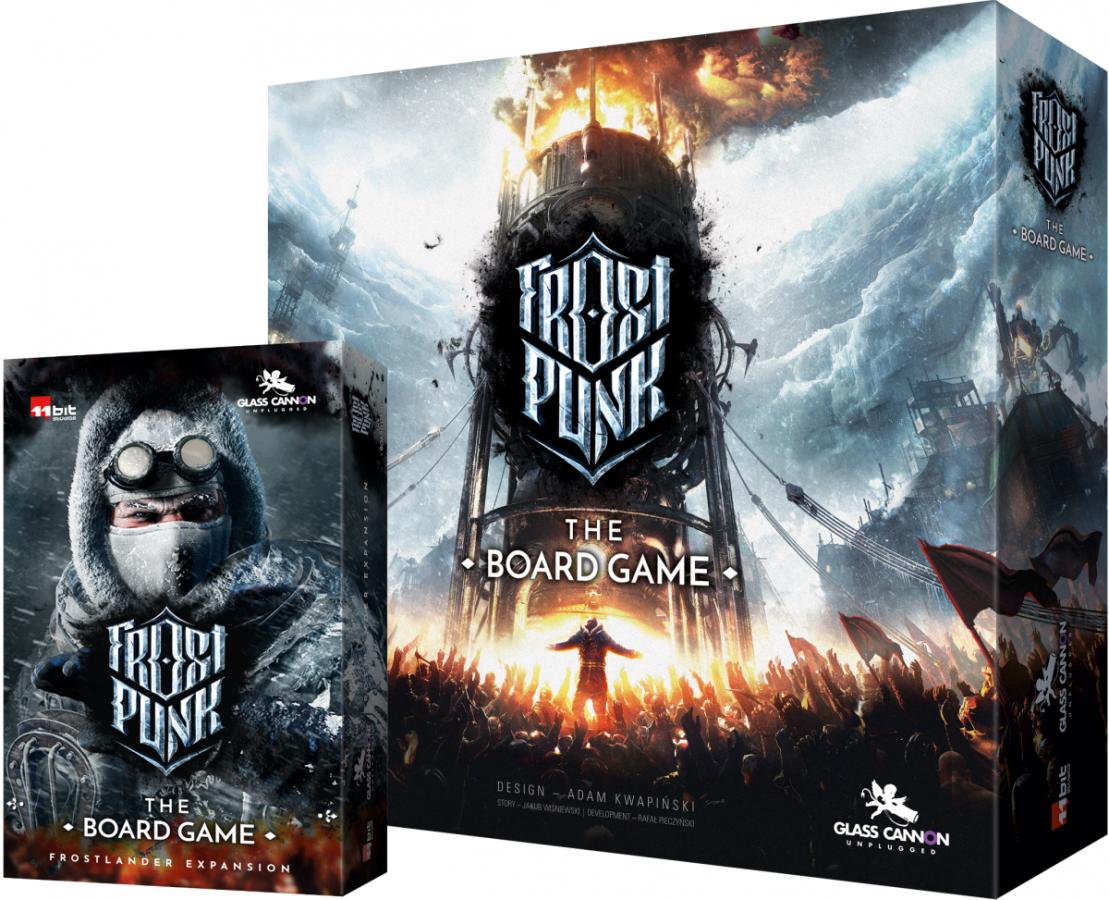 Pakiet Frostpunk: Gra planszowa i Frostlander