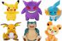 Pokémon - Pluszaki Display 6 sztuk (30 cm)