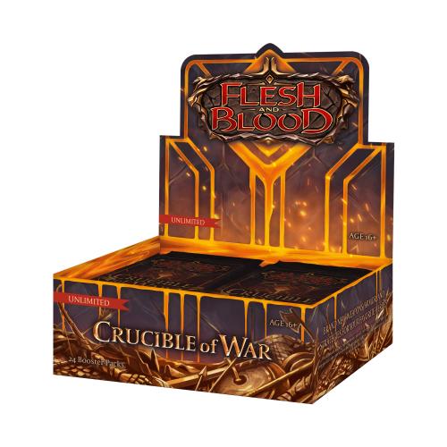 Flesh & Blood: Crucible of War Booster Display (24)