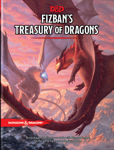 Dungeons & Dragons: Fizban's Treasury of Dragons (Hard Cover)