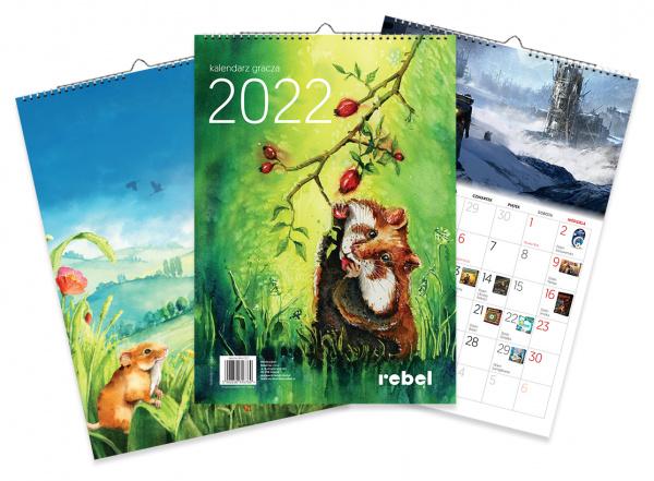 Rebelowy Kalendarz Gracza 2022