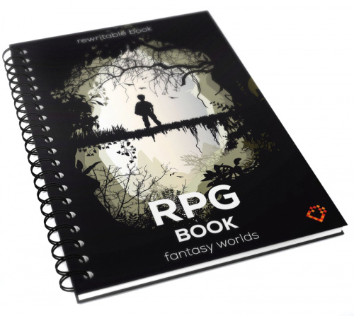 RPG Book - Fantasy Worlds - Format A4