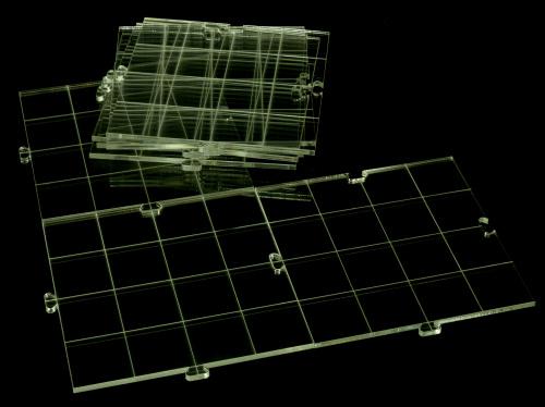 Crafters: Akrylowa plansza modularna (suchościeralna)