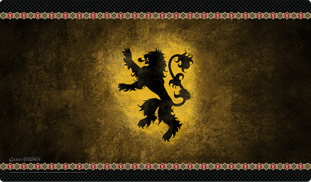Game of Thrones: House Lannister Playmat