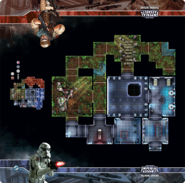 Imperial Assault Skirmish Map - Training Ground