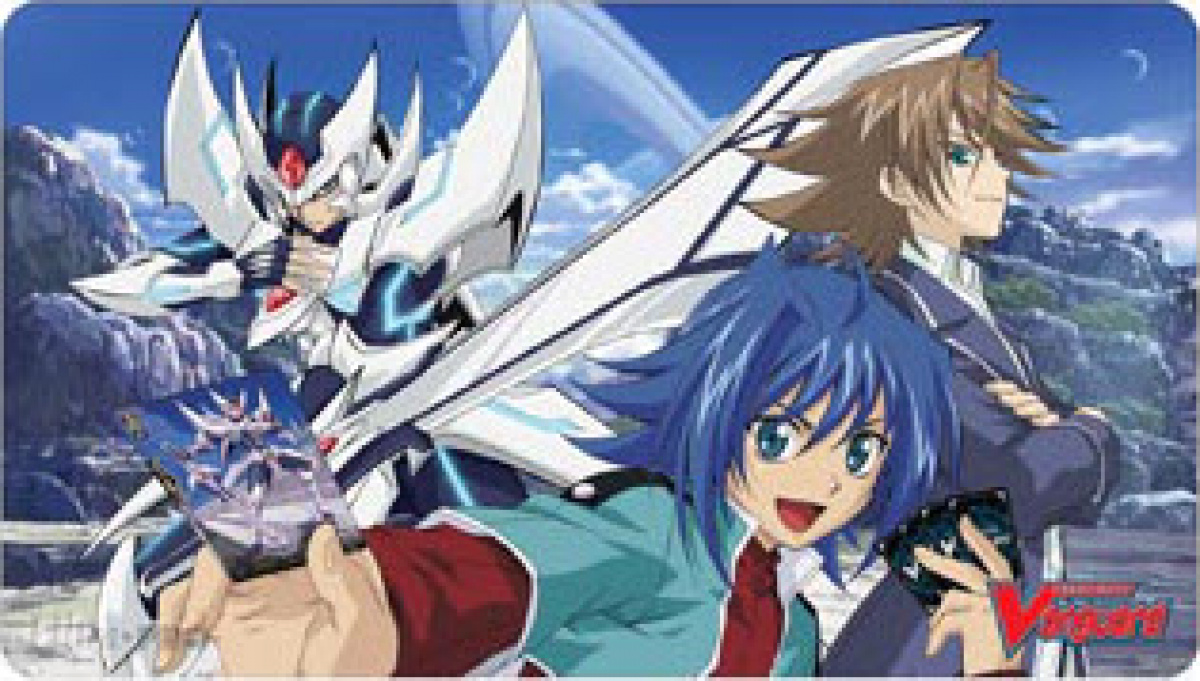 Mata do gry - Blaster Blade Aichi vs Kai Cardfight!! Vanguard