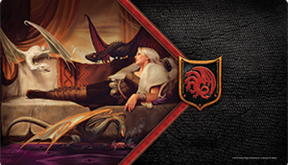 A Game of Thrones: The Card Game - The Mother of Dragons Playmat