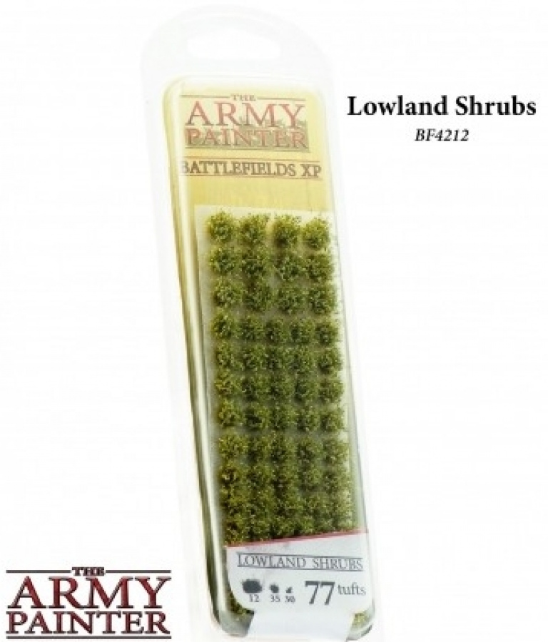 Army Painter - Lowlands Shrubs (77)