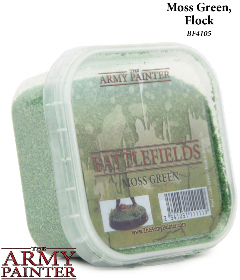 Army Painter - Basing Moss Green Flock