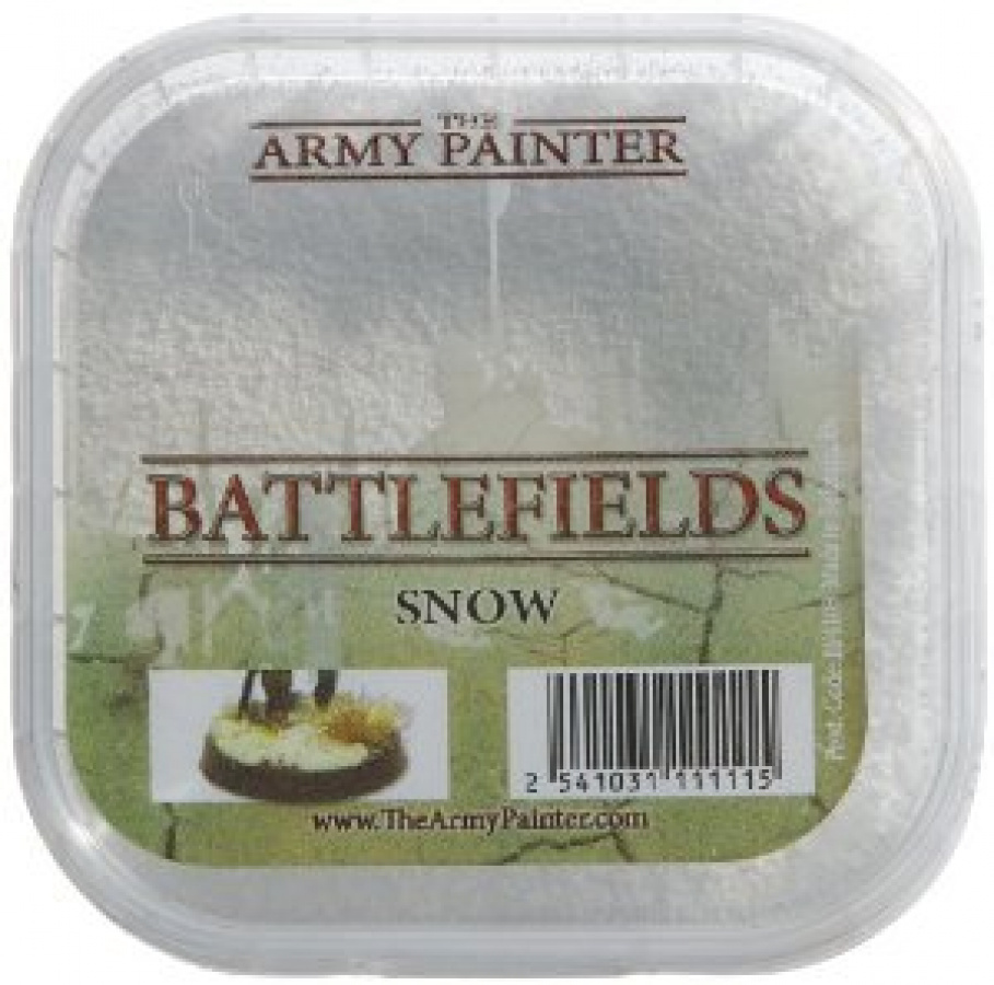 Army Painter - Battlefields Snow