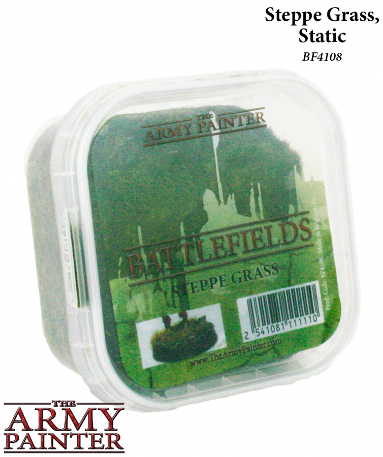 Army Painter - Basing Steppe Grass Static