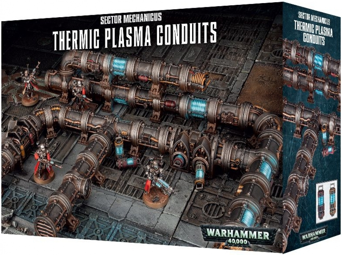 Sector Mechanicus: Thermic Plasma Conduits
