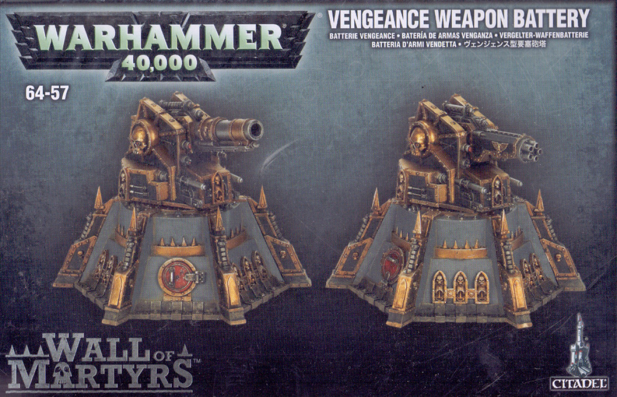 Warhammer 40.000: Vengeance Weapons Battery