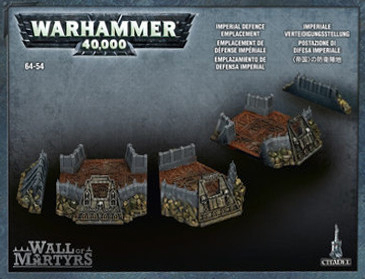 Warhammer 40.000: Imperial Defence Emplacement