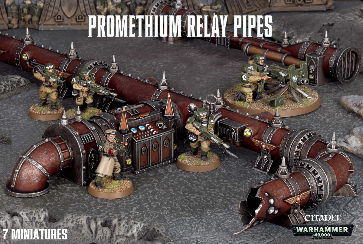Citadel Promethium Relay Pipes