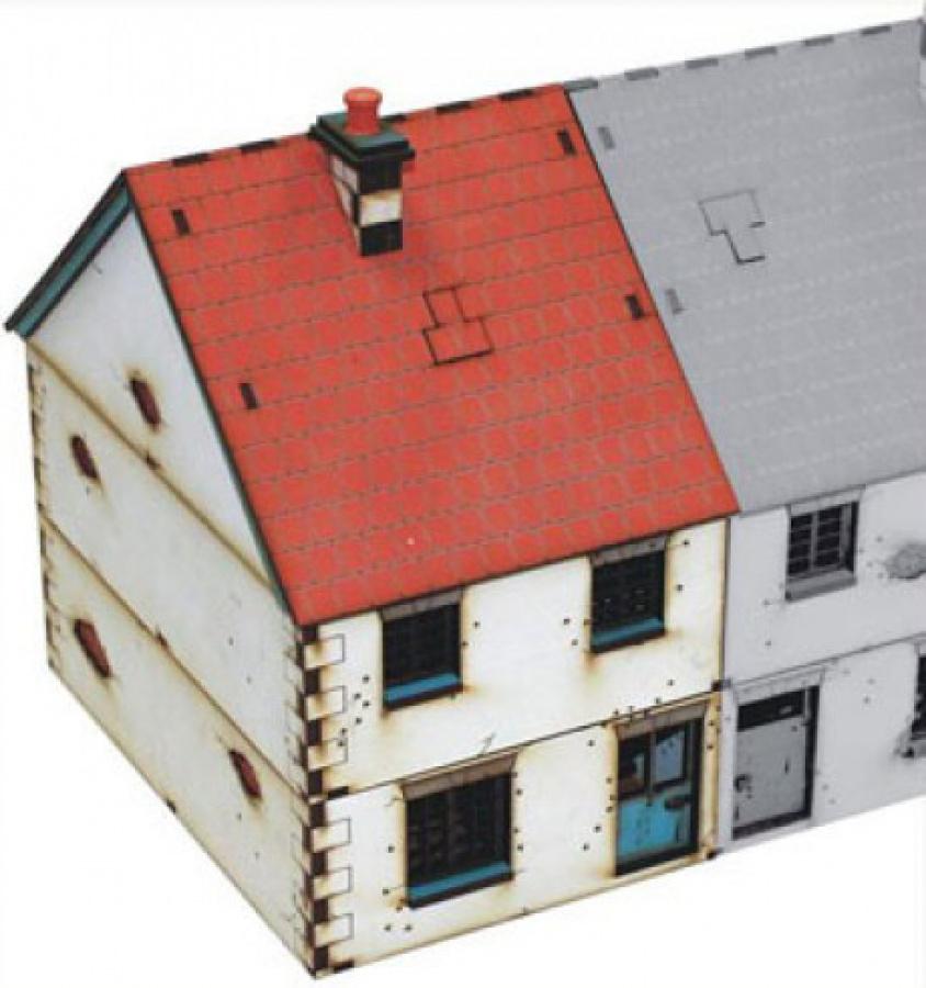 Left Side Semi-House (Type 1)