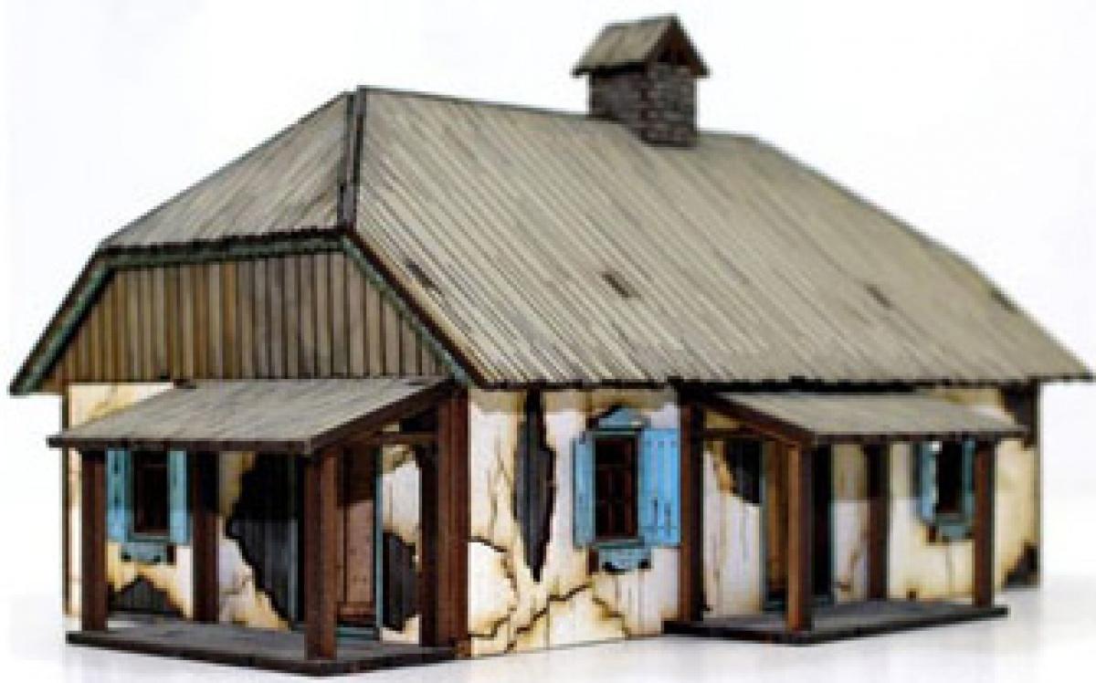 Ukrainian Rural House