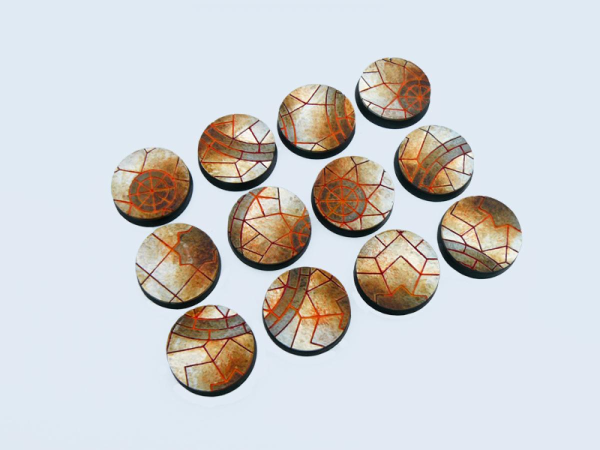 Mosaic Bases, Round 25mm (5)
