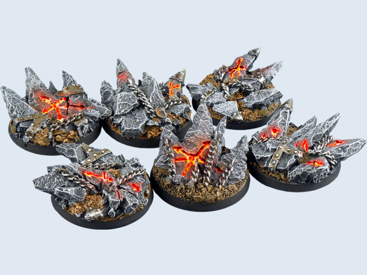 Chaos Bases Round 40mm (2)