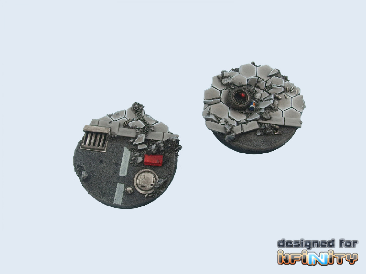 Urban Fight Bases, 55mm