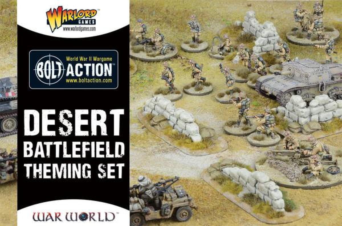Bolt Action - Desert Battlefield Theming Set