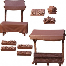 Terrain Crate: Market Stalls